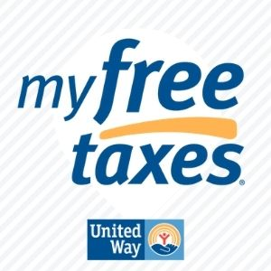 my free taxes .com made possible by United Way